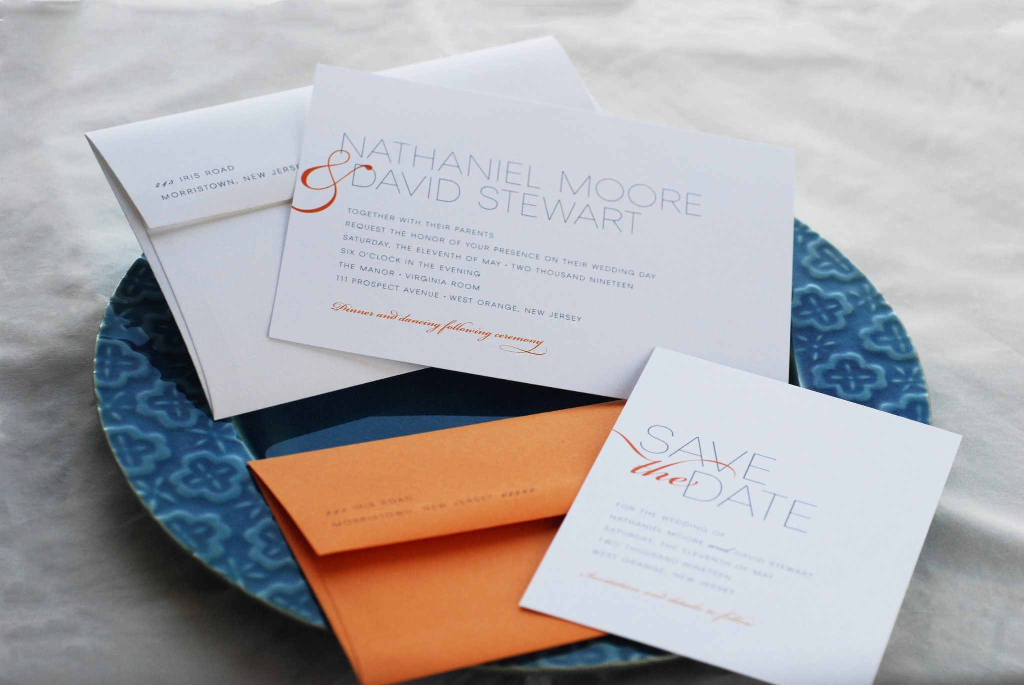 Stunning Wedding Invitations and Stationery in Westchester County, NY